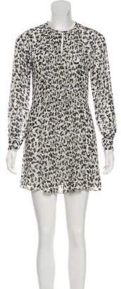 See by Chloe Pleated Front Printed Dress