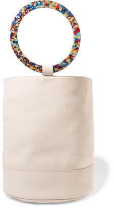 Simon Miller Bonsai 30 Nubuck Bucket Bag - Off-white