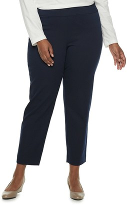 Croft & Barrow Plus Size Effortless Stretch Pull-On Pants