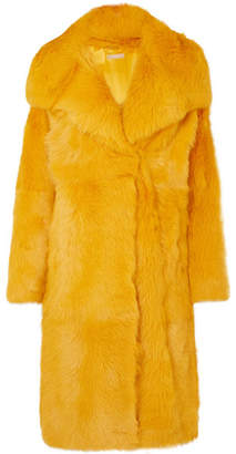 Michael Kors Shearling Coat - Yellow