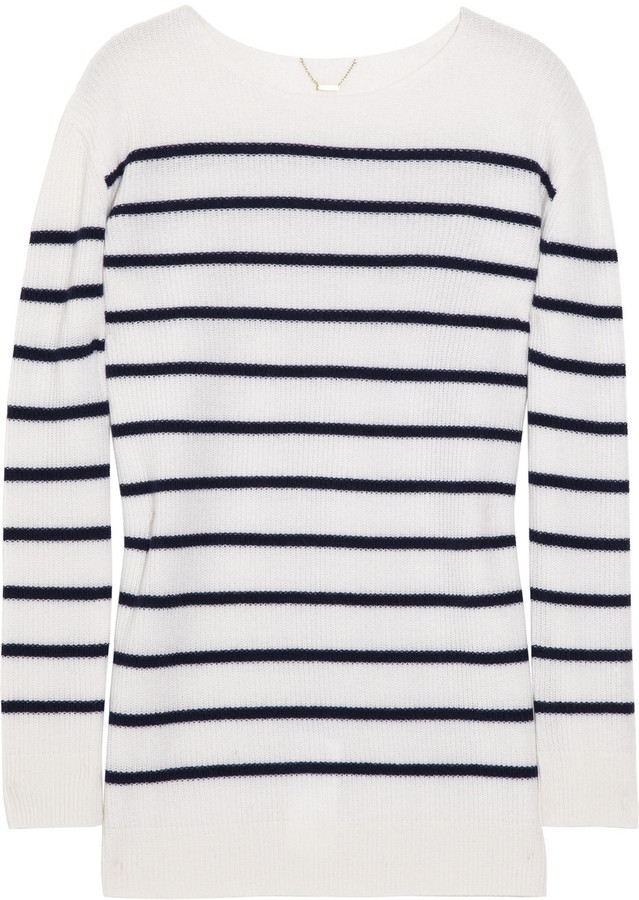 The Row Pablo striped cashmere sweater