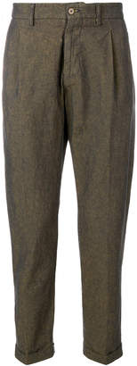 Berwich tapered trousers