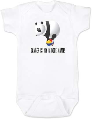 Vulgar Baby Danger Panda Onesie, 0-3 MO