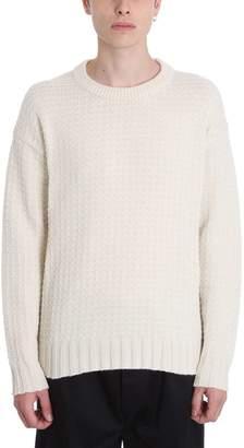 Laneus Beige Wool Sweater