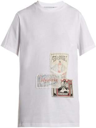 Martine Rose Patch cotton T-shirt