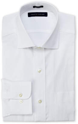 Tommy Hilfiger White Regular Fit Oxford Shirt