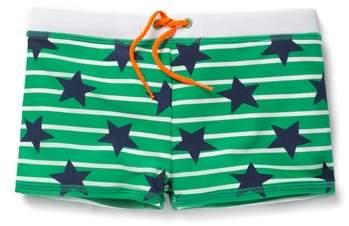 Mini Boden Stars Swim Trunks