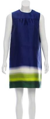 Prada Silk Dip-Dye Dress