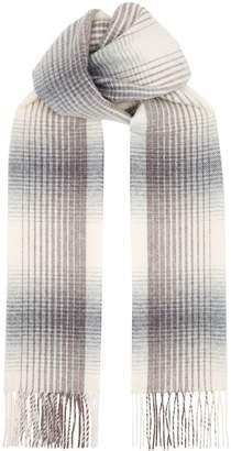 Eton Wool Check Scarf