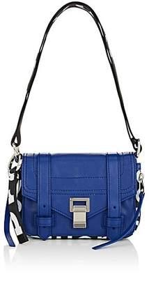Proenza Schouler Women's PS1+ Mini Leather Crossbody Bag - Blue