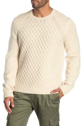 Vince Wool Raglan Sleeve Sweater