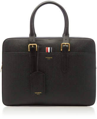 Thom Browne Leather Business Bag