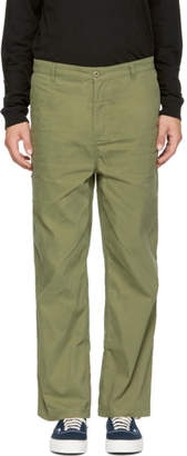 Perks And Mini Green DM Cut Chino Trousers