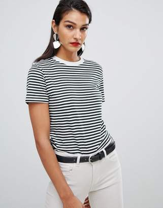 Selected Stripe Boxy T-Shirt