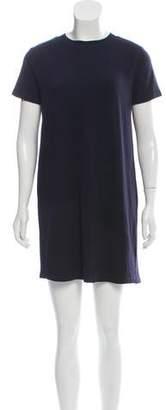 Clu Silk-Accented Knit Dress