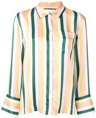 Asceno striped pyjama shirt