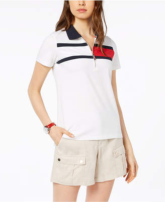 Tommy Hilfiger Striped Short-Sleeve Polo