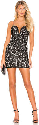 superdown Candice Sweetheart Mini Dress