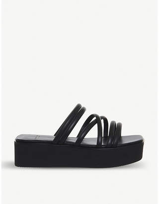 Vagabond Bonnie leather flatform sandals
