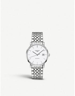 Longines L4.910.4.12.6 Elegant stainless steel watch