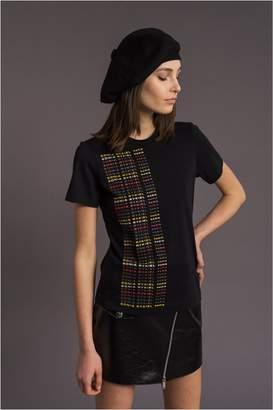 Sonia Rykiel Textured Cotton T-Shirt