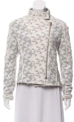 IRO Quilted Pattern Jacket
