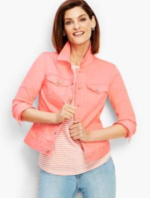 Talbots The Classic Denim Jacket - Colored