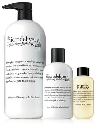 philosophy Exfoliate & Cleanse Trio
