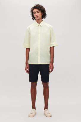 Cos SHIRT WITH TURN-UP SLEEVES