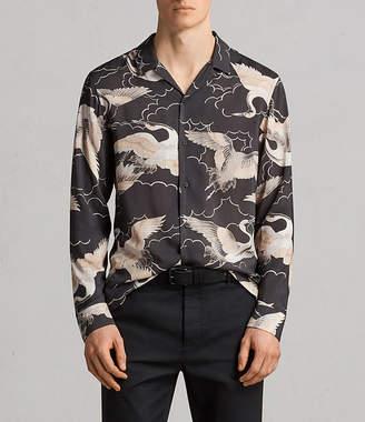 AllSaints Romaji Long Sleeve Shirt