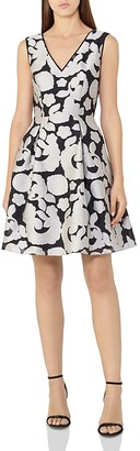 REISS Miriah Floral Jacquard Dress $370 thestylecure.com