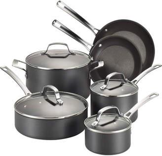 Circulon Genesis 10 Piece Hard Anodized Cookware Set