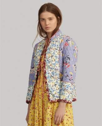 Ralph Lauren Floral Quilted Blazer