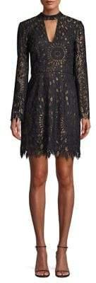 Trina Turk Central Lace Sheath Dress