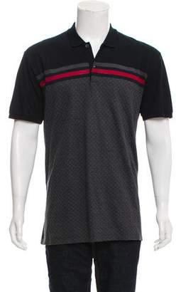 Gucci Diamante Web Polo Shirt