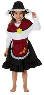F&F Traditional Welsh Girl St. Davids Day Costume 2-3 years