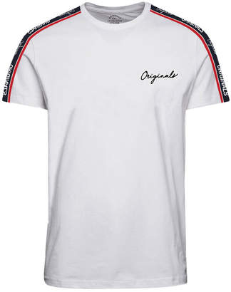 Jack and Jones Men's Originals Logo Tape T-shirt