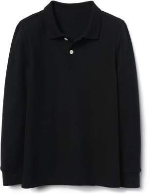 Gymboree Long-Sleeve Pique Polo