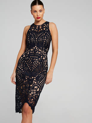 Portmans Australia Elle Sleeveless Lace Dress
