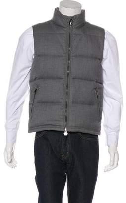 Kent & Curwen Wool Down Gilet