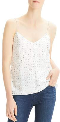 Theory Easy Printed-Silk Camisole Top