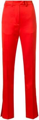 MSGM slit cuff trousers