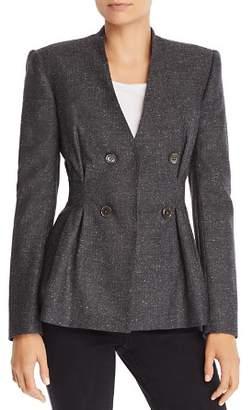 Rebecca Taylor Tailored Herringbone Jacket