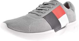 Tommy Hilfiger Lightweight Logo Trainers Grey