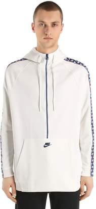 Nike Half Zip Hooded Track Jacket