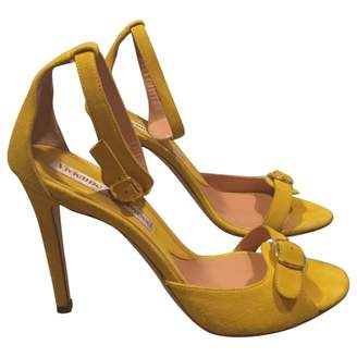 Vivienne Westwood Yellow Suede Sandals
