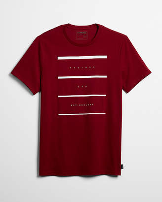 Express Faded Line Graphic Tee
