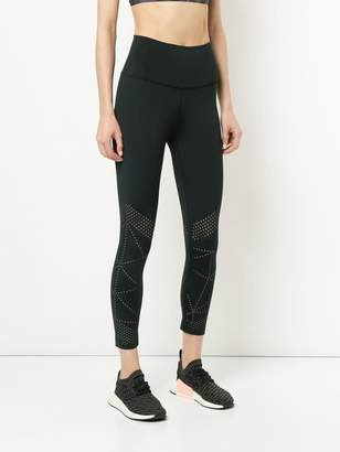 Nimble Activewear slim perforated leggings