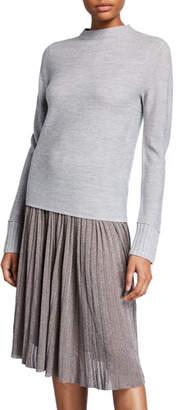 Club Monaco Tommie Mock-Neck Wool Pullover Sweater