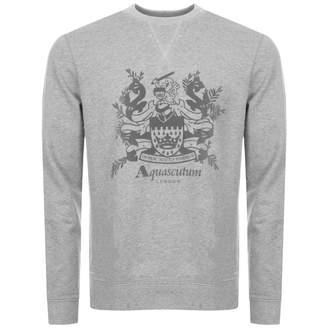 Aquascutum London Ali Long Sleeved Sweatshirt Grey